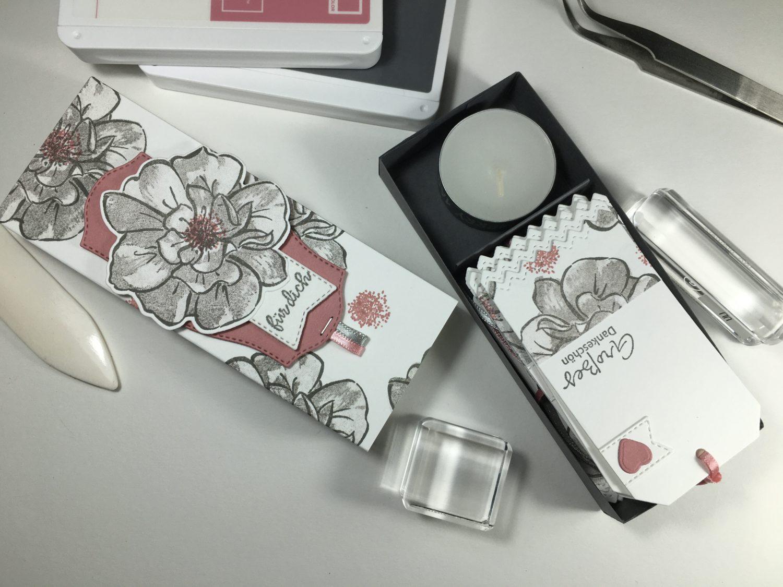 Wilde Rose – Geschenkanhänger