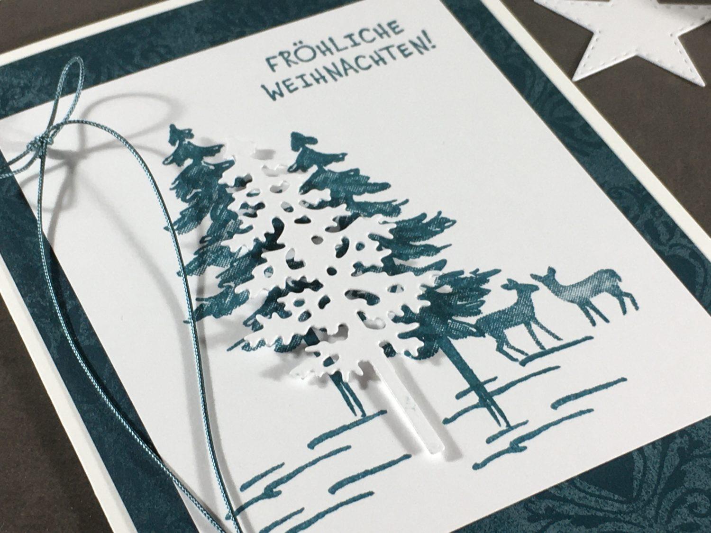 Weihnachten in Pfauengrün