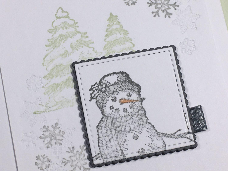Meine ersten Weihnachtskarten